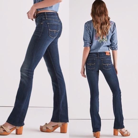 Lucky Brand Denim - lucky brand   lolita boot cut bootcut jeans sz 8